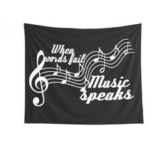 Home sweet 25% off Pillows, Tapestries, & Duvet Covers. Use SWEETHOME25.When words fail music speaks by augustinet