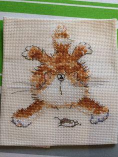 Margret Sherry cross stitch cat series