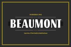 Beaumont by Studio Buchanan on @creativemarket
