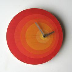 Objectify Orbit Wall Clock - hardtofind.