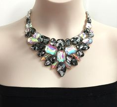 A personal favorite from my Etsy shop https://www.etsy.com/listing/166242738/lace-and-aurora-borealis-rhinestone-bib