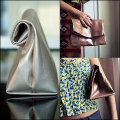 tutorial on how to make a faux leather lunch bag