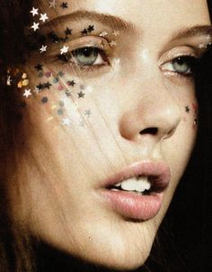 """Frida Gustavsson in """"Seeing Stars"""" for Vogue UK"""