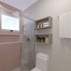 Um outro angulo desse banheiro incrível! 😍💗 #banheiromeunovoapê  Projeto Criar Interiores