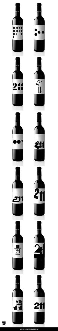 DILAB 211 Matarromera - 12 Labels - 12 Designer. Valdelosfrailes Vendimia Seleccionada 2005.
