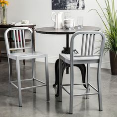 Amisco Spoon Swivel Metal Counter Stool | Overstock.com Shopping - The Best Deals on Bar Stools