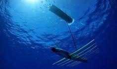 Ocean Energy Waveglider, ocean powerd vehicle, http://yook3.com