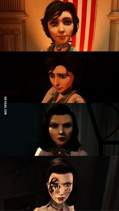 Elizabeth descending - Bioshock Infinite