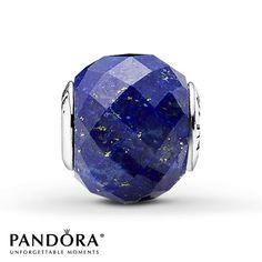 Pandora Peace Charm Lapis Lazuli Sterling Silver