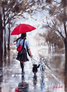 'Sunday Stroll' by Helen Cottle www.artpublishing.com.au