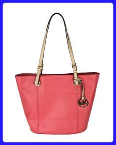 36b2821ce881 Michael Kors Jet Set Item Large Leather Tote, Watermelon - Totes (*Amazon  Partner-Link)
