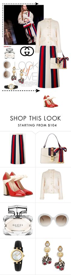 """""""..."""" by hani-bgd ❤ liked on Polyvore featuring Vince, Gucci, gucci and polyvoreeditorial"""
