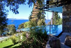 Bariloche pool with an amazing view Backyard, ideas, garden, diy, bbq, hammock, pation, outdoor, deck, yard, grill, party, pergola, fire pit, bonfire, terrace, lighting, playground, landscape, playyard, decration, house, pit, design, fireplace, tutorials, crative, flower, how to, cottages.
