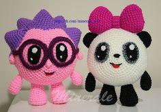 Crochet Amigurumi Free Patterns, Easy Crochet Patterns, Crochet Designs, Crochet Bunny, Crochet For Kids, Crochet Animals, Knitted Dolls, Crochet Dolls, Crochet Yarn