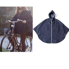 Bike Style: 6 Rain Capes For Spring Bike Riding