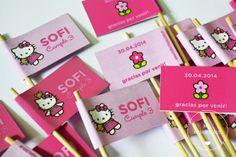 Stickers y toppers. www.milburbujas.com.ar