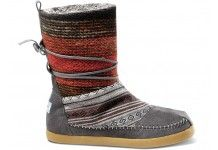 My love for boots - TOMS - Mixed Woven Women's Nepal Boots