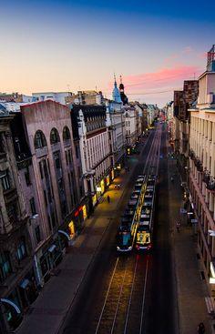 Barona Street. Riga #riga #latvia #transport