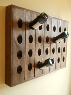 French Riddling Rack, Wine Rack, Pottery Barn Style Riddling Rack, 28 Bottle Riddling Rack on Etsy, $119.00