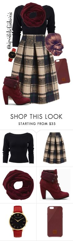 """Apostolic Fashions #952"" by apostolicfashions on Polyvore featuring Donna Karan, Larsson & Jennings and Native Union"