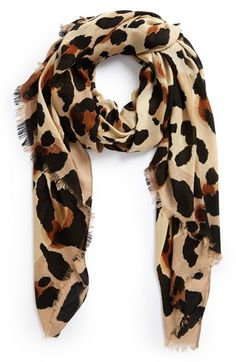 Vince Camuto 'Cheetah Calling' Wrap available at #Nordstrom