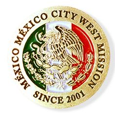 México México City West LDS Mission Pin