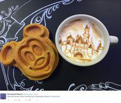 """Rise and shine! Good morning from Disneyland Resort! #DisneySide"" Yes Please!"