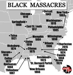 Black Massacres in the U.S.