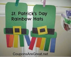 St. Patrick's Day project to do with the kiddos