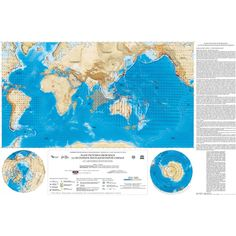 Map of Plate Tectonics from Space by Chamot-Rooke #map #world #geology