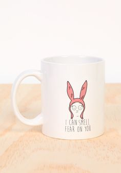 Louise I Can Smell Your Fear Mug