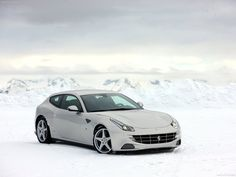 Ferrari FF Silver 2012 poster, #poster, #mousepad, #Ferrari #printcarposter