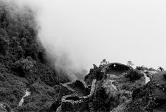 """Inca ruins on the way to Machu Picchu."" Photography by Kelly Geddes for Russh Magazine  #jakhustudio #jakhu_studio"