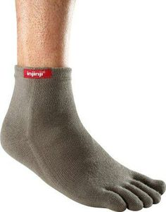 If you're going to invest in a good pair of shoes, you should also consider quality socks. Injinji socks provide a performance and quality.
