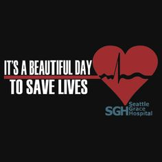 Grey's Anatomy - It's a Beautiful Day to Save Lives | Unisex T-Shirt