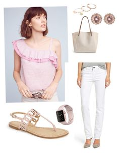 Tickled Pink--it's almost Spring by annemorgan1111 on Polyvore featuring polyvore, fashion, style, Holding Horses, DL1961 Premium Denim, Daya, BP., Ted Baker, Alex and Ani and clothing