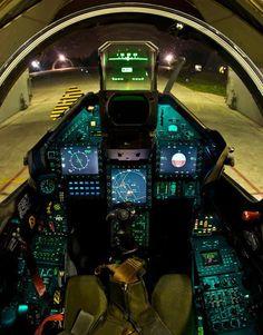Hellenic Air Force Dassault Mirage 2000-5EG cockpit