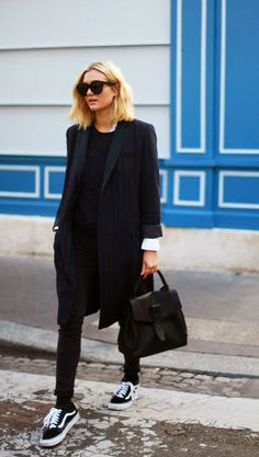 blackout & suit jacket.