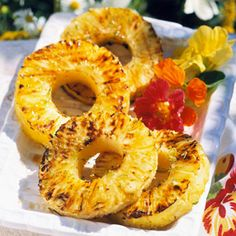 ... Honey Sauces, Tropical Treats, Fresh Pineapple, Grilled Pineapple