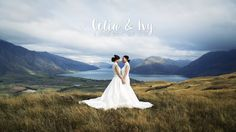 Celia and Ivy's romantic and spectacular mountaintop elopement wedding in Queenstown, New Zealand. Film by Sunshine Weddings - Film + Photo www.sunshineweddings.co.nz