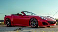 N-LARGO: Breitversion aus Karbon für den Ferrari California T