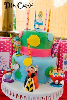 An evening in Wonderland, Alice in Wonderland Birthday PartyThe Polka Dot Chair