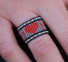 Adjustable Navajo Native Indian Heart Tribal by TheUrbanGypsyCo