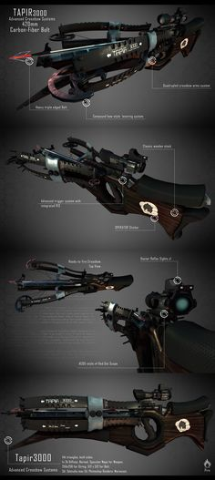 the Crossbow - tapir 3000 by Pirosan.deviantart.com on @DeviantArt