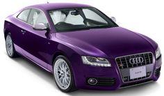 Audi A8 purple