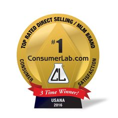#USANA inc Three-Time Winner of Top Rated #DirectSelling Brand in ConsumerLab.com's Consumer Survey