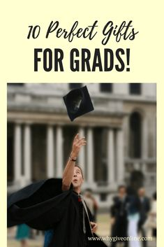 10 Perfect Gifts for the Grads. Are you looking for the perfect gift for your graduate? Check out this post for 10 perfect gifts. #Graduation #Graduate #GiftGuide #Gifts #Giving Diy Gifts For Mothers, Gifts For Boys, Mother Gifts, Fathers Day Gifts, College Graduation Gifts, Grad Gifts, College Fun, Graduation Ideas, Last Day Of School
