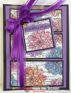 Mississippi McGyver: STAMPlorations Color Blooms Blog Hop and Linky Party