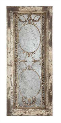 "Pine Wood & Metal Framed Antiqued Mirror, Heavily Distressed - DA6265 - Creative Co-Op 22""L X 51""H Pine Wood & Metal Framed Antiqued Mirror, Heavily Distressed Finish - DA6265SKU: DA6265 Collection: FlourishProduct Type: Wall DecorUPC: 807472930237Ship By Truck: YesCubic Feet: 0/1/3.258"