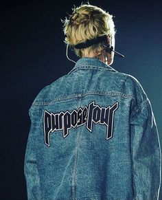 Jacket: justin bieber, purpose tour, purpose, denim jacket, blouse ...
